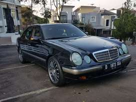 mercedes benz e260 w210 2001 new eyes BU