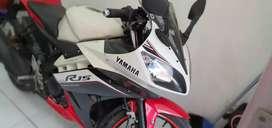 Yamaha YZF R15 V2 Th 2016 Cash / Credit unit mantap