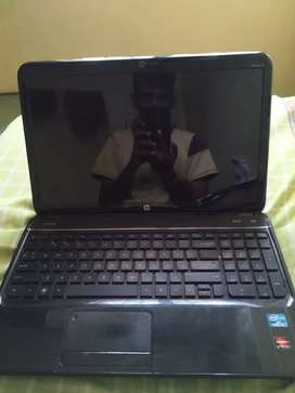 HP laptop i3 processor and 500gb Hd and 4gb ram