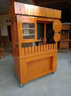 gerobak booth murah gratis kirim