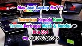 Dibeli laptop bekas Semua Kondisi Syarat halal siap antar jemput