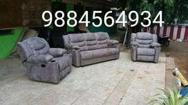 brand new modern recliner sofa