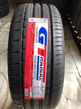 Promo Ban GT Radial 215/45 R17 Champiro HPY