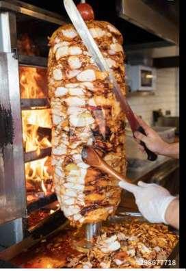 Shawarma and Rumali Roti maker
