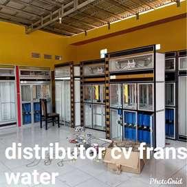Depot air minum isi ulang siap pasang