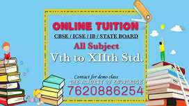 I'm taking online private tuition.  Online tutors