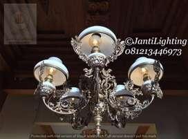 Lampu gantun cabang antik repro lampu gantung betawi lampu lawasan