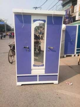 Sale sale  new steel almirah 3door dresing almirah free delivery