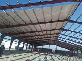 prefabricated warehouse,industrial shed,steel structure