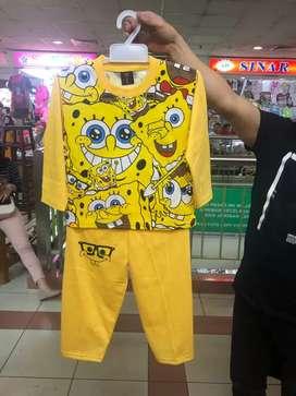 PP.Sponge bob 4 wrn uk 4 6 8 rp.26.000 Grosir