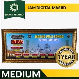 Sedia Jam Masjid Digital Medium Free Desain Kirim Masjid Anda