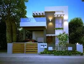 3bhk individual house prime location par