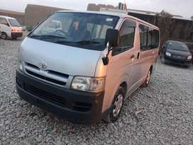 Toyota Hiace 2009-Get On just 20% Down Payment...