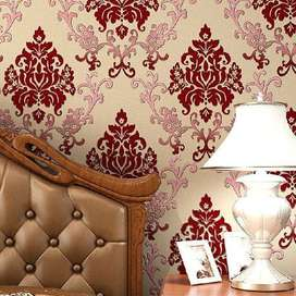 Wallpaper In The Form Of Frescoes