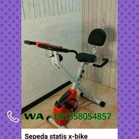 Sepeda statis x bike sandaran bisa cod