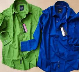 Plain cotton shirts with premium quality