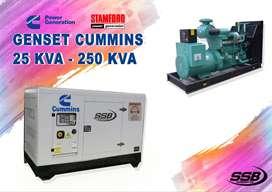 GENSET CUMMINS ALTERNATOR STAMFORD 25KVA - 250KVA