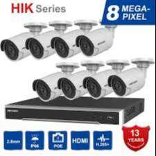 8CH CCTV Camera setup installation-