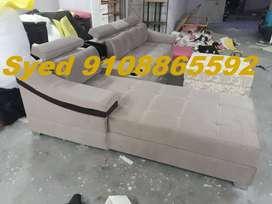 Great model new L shape corner sofa set 3 year warranty Cal VB 37