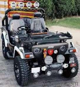 Open Modified black jeep