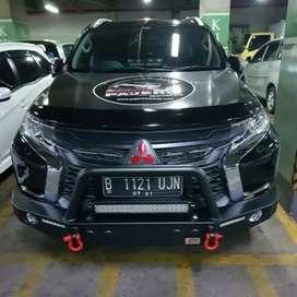 Tanduk/bemper mobil besi pajero/fortuner/mux/triton/Mazda dll