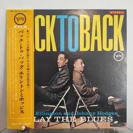 Duke Ellington Johnny Hodges / Back To Back / LP Vinyl / Jazz / Verve