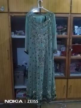 Wedding suit lahnga with old price 32000 discount price 18000