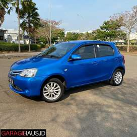 Toyota Etios 2014 Blue MT Good Condition