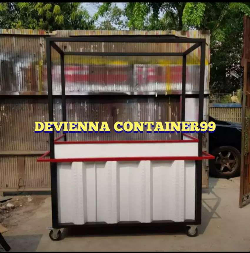 Container/stand/booth semi Container/thaitea Container/food truck 0