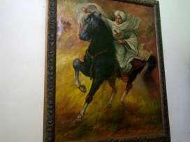 Lukisan di pangeran ponegoro/repiika