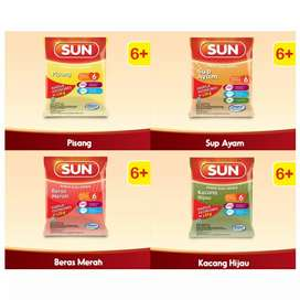 SUN BuburSereal Susu 6+ 120g-6 Bulan-MPASI-Makanan Pendamping-Ekonomis