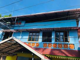 2bhk semi furnished house 1st floor. Solar water heater available