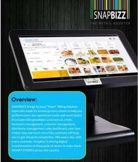Automatic Snapbizz touch billing machine