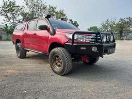 Toyota Hilux type G 2018 Full Spek