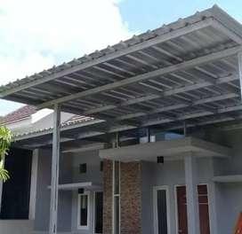 Kami bengkel las nerimah pembuatan kanopi atap sepandex $$1168