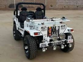 Modified Willy Open Jeeps ready on order from punjab