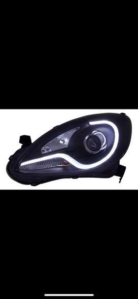 Honda Brio/Amaze/Mobilio Imported Projector Headlight with LED DRL