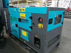 Genset Ultra Silent 20 kva 25 kva Isuzu New Built Up