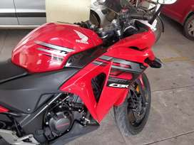 A very well maintained Honda CBR 250R ABS edition
