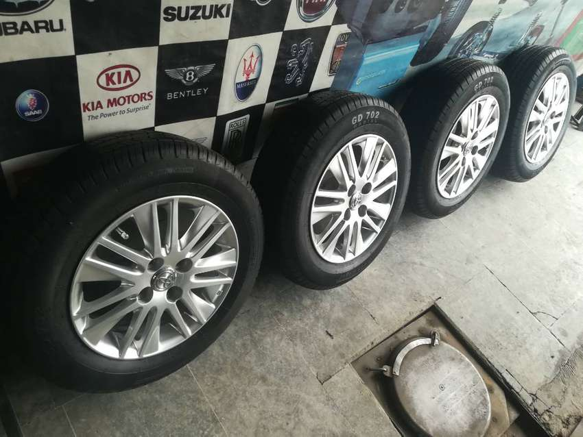 Tyres & Rims 14 inches  4 whole just like brand NEW 0