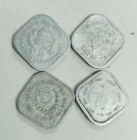 Five paise full set of commemorative coins