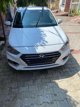 Hyundai Verna 2019 sx (o)Well Maintained