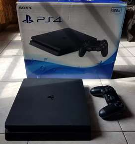PS4 Slim Hd 500GB isi game