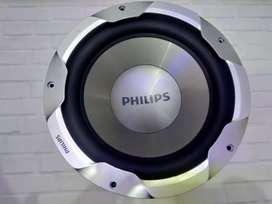Subwoofer philips SQ lovers 10inc