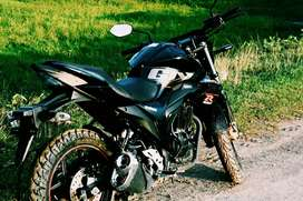 Suzuki gixxer 155 naked just 2 years old sell or exchange
