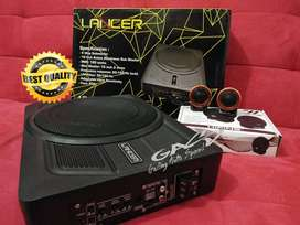 PAKET Subwoofer Kolong Lancer LR SW 1000av Plus Tweeter HIFINe H1-H8