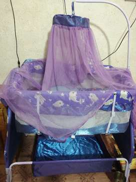 Baby cart and bed for sale, price is 5000.00 discount price is 4300