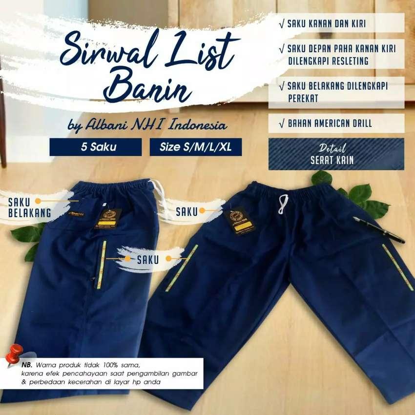 Celana Muslim / Sirwal Anak  3-12thn (Model List)
