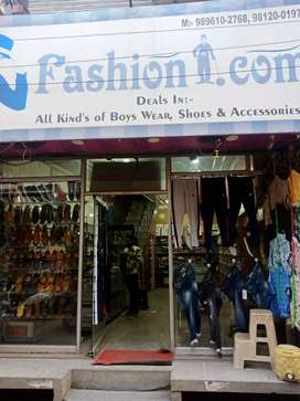 Showroom best for shoes and readymade garments, Patel road Ambalacity