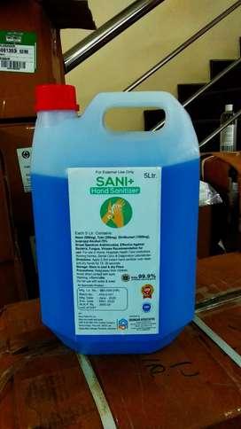 sanitizer 5 Litter jar @ wholesale price